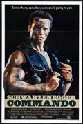 "Movie Posters:Action, Commando (20th Century Fox, 1985). One Sheet (27"" X 41"") Flat Folded. Action.. ..."