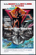 "Movie Posters:James Bond, The Spy Who Loved Me Lot (United Artists, 1977). One Sheet (27"" X41"") and Pressbooks (2) (Multiple Pages, Various Sizes). J...(Total: 3 Items)"