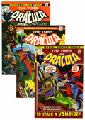 Bronze Age (1970-1979):Horror, Tomb of Dracula Group (Marvel, 1972-79) Condition: AverageFN/VF.... (Total: 65 Comic Books)