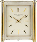 Timepieces:Clocks, Patek Philippe Solar Powered Desk Clock, circa 1957. ...