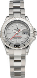 Timepieces:Wristwatch, Rolex Lady's Steel & Platinum Yachtmaster Wristwatch, circa2008. ...