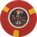Miscellaneous:Gaming Chips, Flamingo $25 Las Vegas Casino Chip, Third Issue, R-8 / R-10 Uncancelled, Circa 1950....