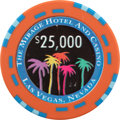 Miscellaneous:Gaming Chips, Mirage $25,000 Las Vegas Casino Chip, Prototype Issue....
