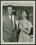 "Movie Posters:Black Films, Harry Belafonte & Dorothy Dandridge in ""Bright Road"" (MGM,1953). Photos (2) (8"" X 10""). Black Films.. ... (Total: 2 Items)"