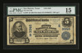 National Bank Notes:Texas, San Marcos, TX - $5 1902 Plain Back Fr. 598 The First NB Ch. # (S)3346. ...