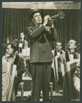"""Movie Posters:Fantasy, Jack Benny in """"The Horn Blows at Midnight"""" (Warner Brothers, 1945).Photos (4) (8"""" X 10""""). Fantasy.. ... (Total: 4 Items)"""