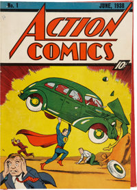 Action Comics #1-24 Bound Volumes (DC, 1938-40).... (Total: 2 Items)