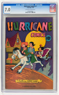 Golden Age (1938-1955):Funny Animal, Hurricane Comics #1 (Cambridge House/Superior Publishers, 1945) CGCFN/VF 7.0 Off-white to white pages. ...