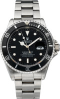 Timepieces:Wristwatch, Rolex Ref. 16613 Steel Submariner, circa 1993. ...