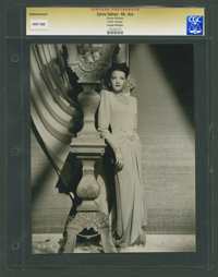 "Sylvia Sidney in ""Mr. Ace"" by Frank Tanner (United Artists, 1946). Portrait (7.5"" X 9.5""). Drama..."