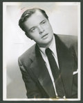 """Movie Posters:Miscellaneous, Orson Welles Lot by Martin Harris (Culver Pictures, 1930s-1943). Portraits (2) (8"""" X 10"""" and 7"""" X 9""""). Miscellaneous.. ... (Total: 2 Items)"""