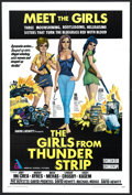 "Movie Posters:Action, The Girls from Thunder Strip and Other Lot (American GeneralPictures, Inc., 1970). One Sheets (2) (27"" X 41""). Action.. ...(Total: 2 Items)"
