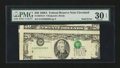 Error Notes:Major Errors, Fr. 2076-D $20 1988A Federal Reserve Note. PMG Very Fine 30 EPQ.....