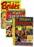 Golden Age (1938-1955):Romance, Golden Age Romance First Issue Group (Various Publishers,1940s-50s) Condition: VG+.... (Total: 8 Comic Books)