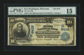 National Bank Notes:Wisconsin, Port Washington, WI - $10 1902 Date Back Fr. 618 The First NB Ch. # (M)9419. ...
