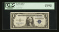 Small Size:Silver Certificates, Fr. 1612 $1 1935C Silver Certificate. PCGS Superb Gem New 67PPQ.. ...