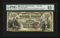 National Bank Notes:North Carolina, High Point, NC - $20 1882 Brown Back Fr. 499 The Commercial NB Ch. # (S)4568. ...