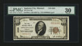 National Bank Notes:Missouri, Appleton City, MO - $10 1929 Ty. 1 The First NB Ch. # 2636. ...