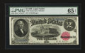 Large Size:Legal Tender Notes, Fr. 55 $2 1880 Legal Tender PMG Gem Uncirculated 65 EPQ....