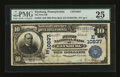 National Bank Notes:Pennsylvania, Elysburg, PA - $10 1902 Plain Back Fr. 632 The First NB Ch. #(E)10837. ...