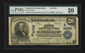 National Bank Notes:Pennsylvania, Jeannette, PA - $20 1902 Plain Back Fr. 652 The First NB Ch. #(E)4092. ...