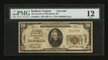 National Bank Notes:Virginia, Radford, VA - $20 1929 Ty. 1 The Farmers & Merchants NB Ch. #11690. ...