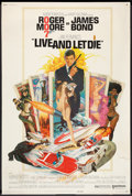 "Movie Posters:James Bond, Live and Let Die (United Artists, 1973). Poster (40"" X 60""). JamesBond.. ..."
