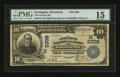 National Bank Notes:Wisconsin, Darlington, WI - $10 1902 Date Back Fr. 616 The Citizens NB Ch. # (M)3308. ...