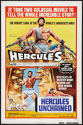 "Movie Posters:Adventure, Hercules Unchained (Warner Brothers, R-1973). One Sheet (27"" X 41"")and Photos (3) (8"" X 10""). Adventure.. ... (Total: 4 Items)"