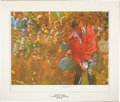 Golf Collectibles:Art, Arnold Palmer Signed Lithograph....