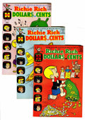 Silver Age (1956-1969):Humor, Richie Rich Dollars and Cents #2-109 File Copies Group (Harvey, 1963-82) Condition: Average VF/NM....