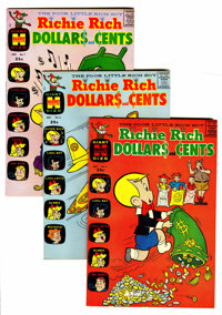 Richie Rich Dollars and Cents #2-109 File Copies Group (Harvey, 1963-82) Condition: Average VF/NM