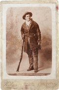 Photography:Official Photos, Calamity Jane: Rare Image of the Frontierswoman. ...