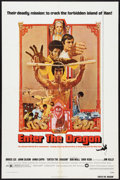 "Movie Posters:Action, Enter the Dragon (Warner Brothers, 1973). One Sheet (27"" X 41""),Personality Poster (20"" X 27""), and Photos (4) (7.5"" X 9.5""...(Total: 6 Items)"