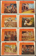 "Movie Posters:Historical Drama, The Ten Commandments (Paramount, 1956). Lobby Card Set of 8 (11"" X14""). Historical Drama.. ... (Total: 8 Items)"