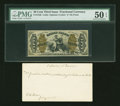 Fractional Currency:Third Issue, Fr. 1346 50¢ Third Issue Justice PMG About Uncirculated 50 EPQ....