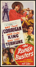 "Movie Posters:Western, The Range Busters (Monogram, 1940). Three Sheet (41"" X 81""). Western.. ..."