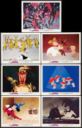 "Movie Posters:Animated, Fantasia (Buena Vista, R-1977). Lobby Cards (7) (11"" X 14"").Animated.. ... (Total: 7 Items)"