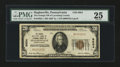 National Bank Notes:Pennsylvania, Hughesville, PA - $20 1929 Ty. 1 The Grange NB of Lycoming CountyCh. # 8924. ...