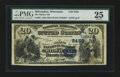 National Bank Notes:Wisconsin, Milwaukee, WI - $20 1882 Value Back Fr. 581 The Marine NB Ch. # (M)5458. ...