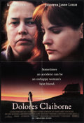 "Dolores Claiborne Lot (Columbia, 1995). One Sheets (2) (27"" X 40"") Regular and Advance. Thriller. ... (Total:..."