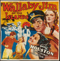 "Movie Posters:Adventure, Wallaby Jim of the Islands (Grand National, 1937). Six Sheet (81"" X81""). Adventure.. ..."