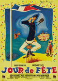 "Movie Posters:Comedy, Jour de fête (DisCina, 1949). French Petite (23.5"" X 31.5""). ..."