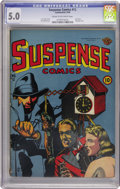 Golden Age (1938-1955):Horror, Suspense Comics #12 (Continental Magazines, 1946) CGC VG/FN 5.0Cream to off-white pages....