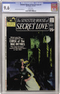 Bronze Age (1970-1979):Romance, Sinister House of Secret Love #1 (DC, 1971) CGC NM+ 9.6 Whitepages....