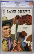 Golden Age (1938-1955):Western, Four Color #230 Zane Grey's Sunset Pass - Vancouver pedigree (Dell, 1949) CGC NM 9.4 White pages....