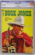 Golden Age (1938-1955):Western, Four Color #299 Buck Jones - Vancouver pedigree (Dell, 1950) CGCNM- 9.2 White pages....