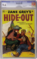 Golden Age (1938-1955):Western, Four Color #346 Zane Grey's Hide-Out - Vancouver pedigree (Dell, 1951) CGC NM+ 9.6 White pages....