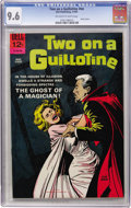 Silver Age (1956-1969):Horror, Movie Classics - Two On a Guillotine (Dell, 1965) CGC NM+ 9.6 Off-white to white pages....