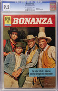 Silver Age (1956-1969):Western, Bonanza #nn (Dell, 1962) CGC NM- 9.2 Off-white to white pages....
